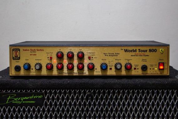 Amplificador David Eden Wt800 C Case 12x Sem Juros Cabeçote