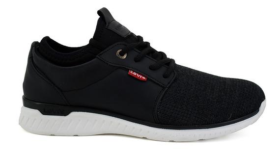 Zapato Casual Levis Para Hombre L219092 Negro [lev100]