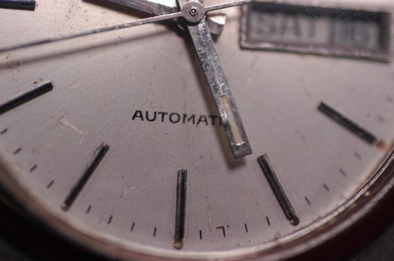 Relógio Bulova, Vintage Clássico, Automático, Swiss Made