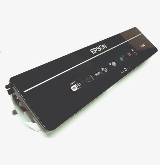Painel De Controle Epson L375 Completo Com Cabo Flat