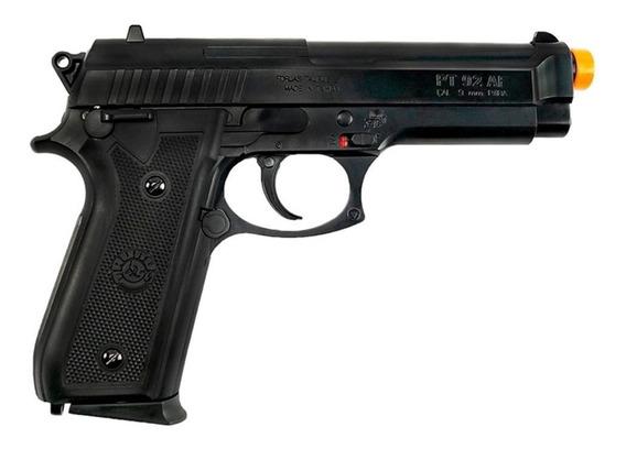 Pistola Airsoft Spring Taurus Pt92 6mm Cybergun Cyb-210002