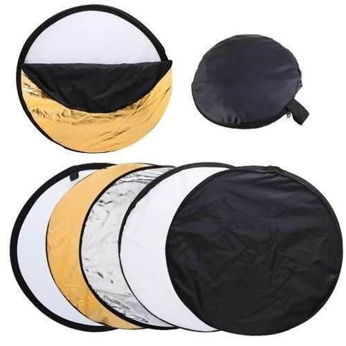 Rebatedor Difusor Circular 5 Em 1 60cm Para Foto E Vídeo