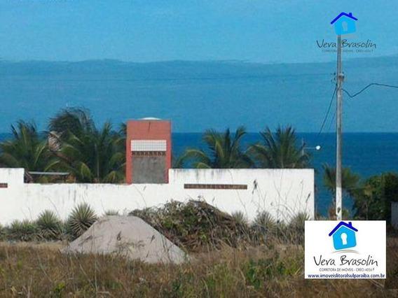 Terreno À Venda, 435 M² Por R$ 75.000 - Village - Conde/pb - Te0705