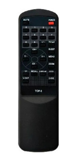 Control Remoto Para Televisor Modelo Top 3