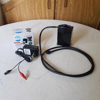 Bateria E Carregador Para Motores E Montagens 6 Volts - Kit