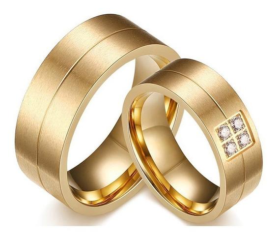 Par De Aliança Anel De Noivado Compromisso Casamento