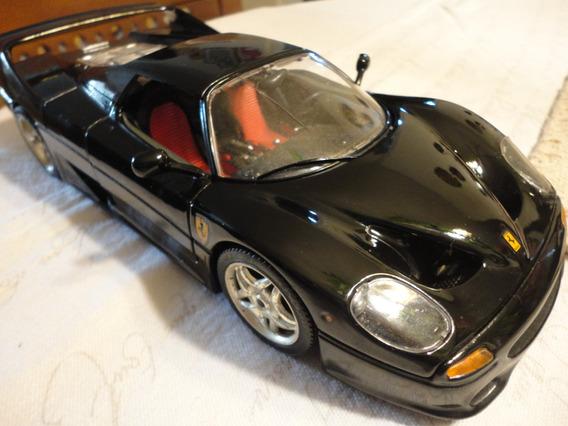 Ferrari F50 Burago 1/18.made Italy.detalle Una Belleza!