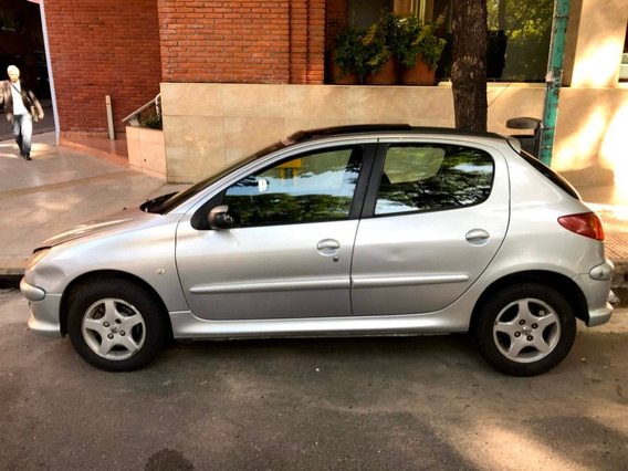 Peugeot 206 Xt Premium 1,6 Nafta Aire/acond. Techo/corredizo
