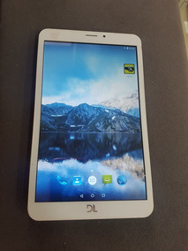 Tablet Dl Tp303 8gb 3g Tela 8 E Android 5.0 Chip