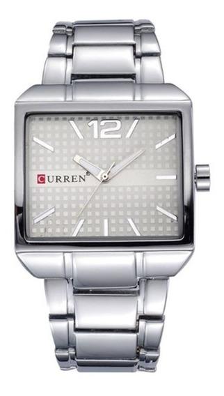 Reloj Moderno Uso Rudo Hombre Análogo Original Curren 8132