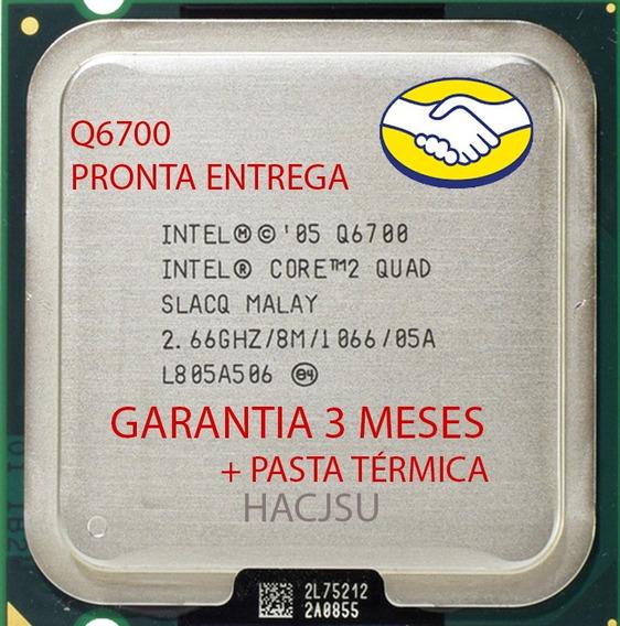 Processador Intel Core 2 Quad Q6700 + Pasta Térmica