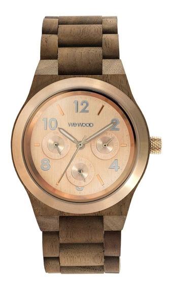 Relógio, Wewood, Kyra Mb Nut Rough Rose