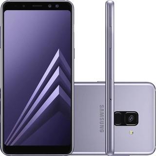 Smartphone Samsung Galaxy A8 64gb 4gb Ram Prata Vitrine 3