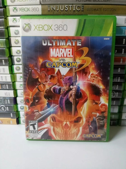 Ultimate Marvel Vs Capcom 3 - Xbox 360 - Original