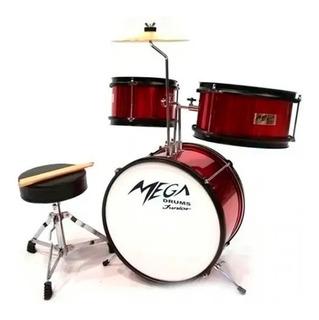 Bateria Infantil Mega Drums 3 Cuerpos Envío Gratis Cuotas