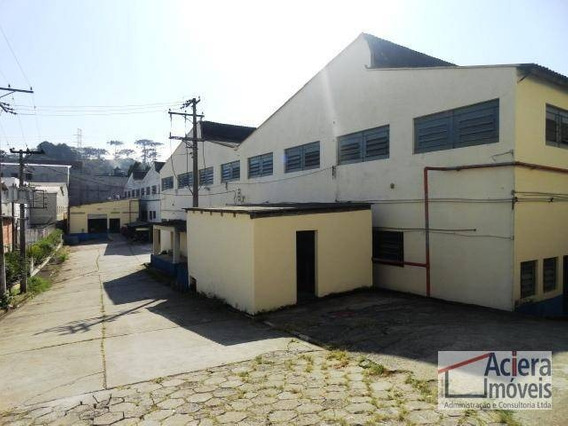Jardim Fontana- Galpão Com Excelentes Espaços De Área Fabril E Escritórios !! - Ga0196