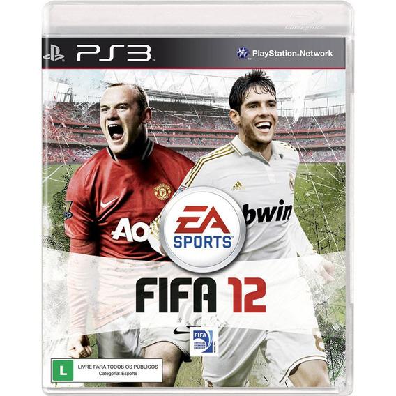 Fifa 12 Ps3 Playstation Mídia Física Original