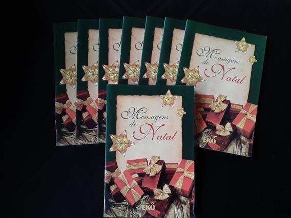 Lote 8 Livros Mensagens De Natal