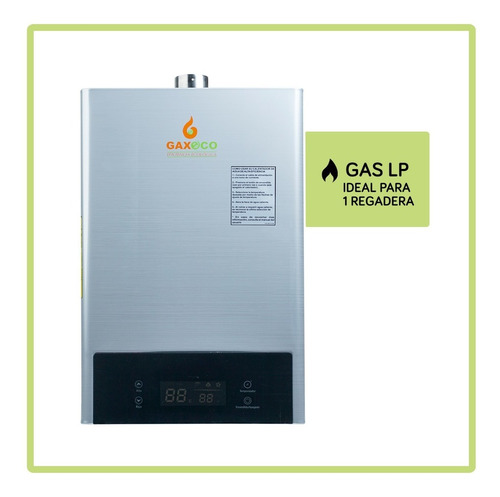 Calentador De Agua Modulante Gaxeco Eco16000tc Gas Lp