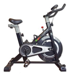 Bicicleta Spinning Fija Rueda Inercial De 10 Kg Hasta 120 Kg