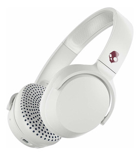 Auriculares inalámbricos Skullcandy Riff Wireless white y crimson