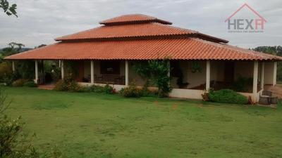 Fazenda Rural À Venda, Zona Rural, Taquaral De Goiás. - Fa0001