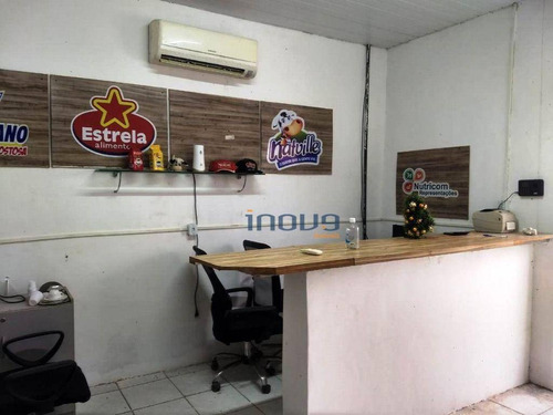 Sala Comercial Com Camara Fria Para Alugar, 120 M² Por R$ 2.000/mês - Parangaba - Fortaleza/ce - Sa0011
