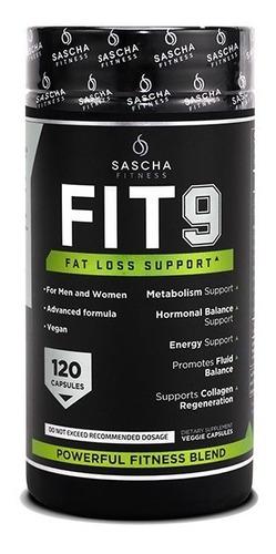 Imagen 1 de 3 de Sascha Fitness Fit 9 (120 Capsulas) Fit9 Oferta!