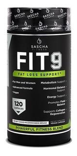 Sascha Fitness Fit 9 (120 Capsulas) Fit9 Oferta!