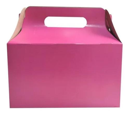 Imagen 1 de 10 de Cajita Feliz 2 De Colores X 250u Packaging Souvenir Cfz2
