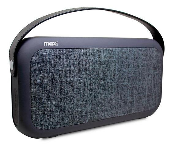 Caixa De Som Bluetooth Sd 30w Portátil Elegante Recarregável