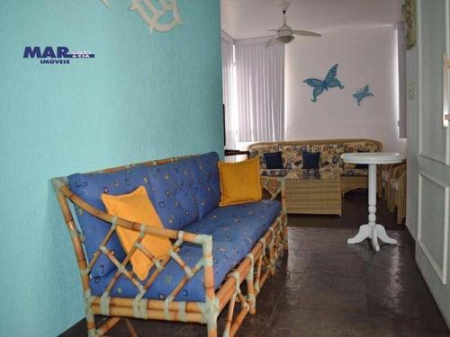 Imagem 1 de 12 de Apartamento Residencial À Venda, Centro, Guarujá - . - Ap8353
