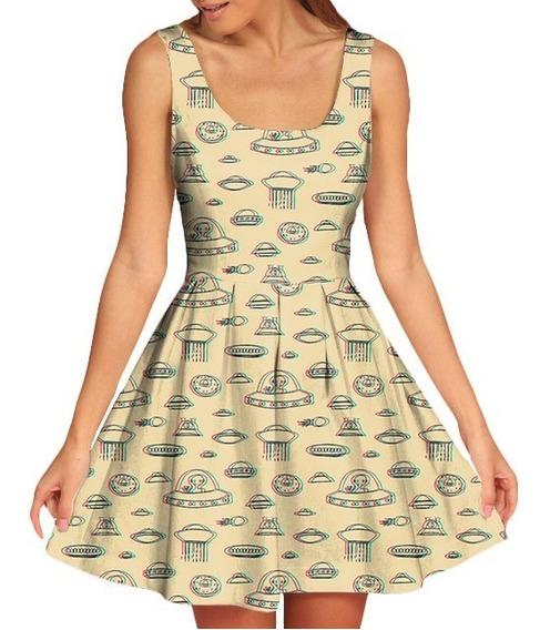 Vestido Feminino Doll Boneca Alien Et Swag Tumblr Retro