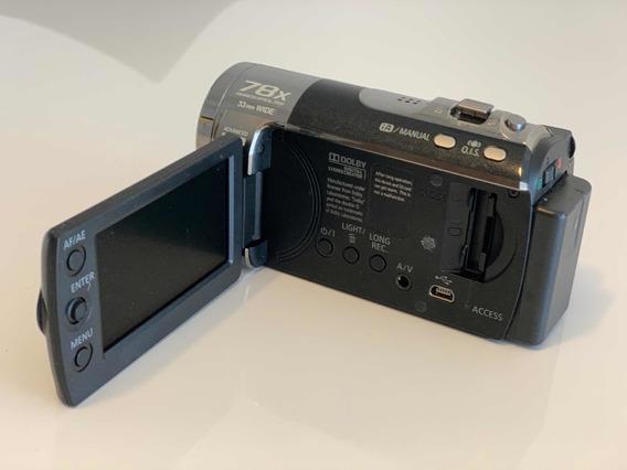 Câmera Filmadora Panasonic Sdr-t51 Built-in Memory 4gb