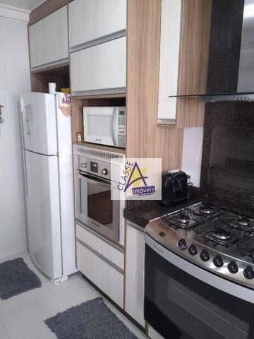 Apartamento Com 3 Dormitórios À Venda, 90 M² Por R$ 610.000 - Vila Guarani - Mauá/sp - Ap0681
