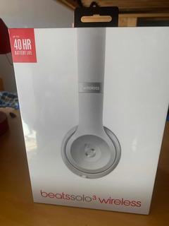 Beats Solo 3 Wireless Nuevos En Caja Silver