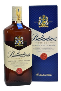 Whisky Ballantines Ballentines 750ml Finest 01almacen