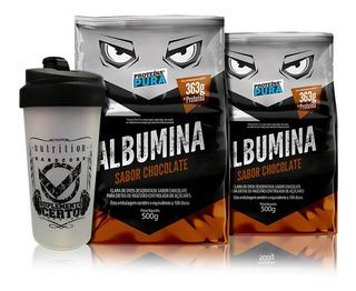 Combo 2x Albumina 500gr Escolha O Sabor - Proteína Pura