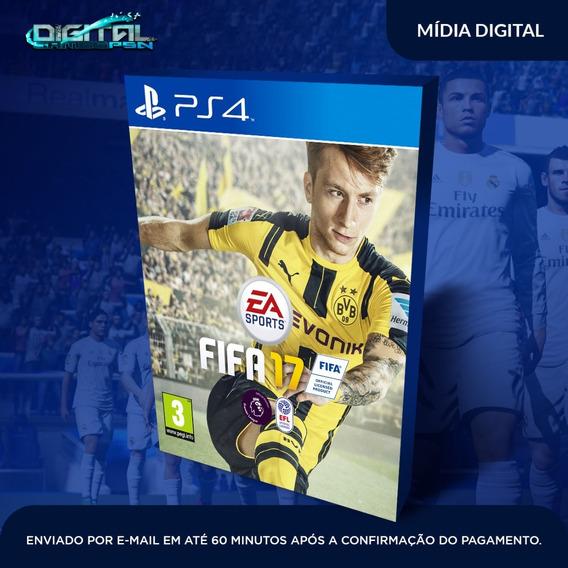 Fifa 17 Ps4 Psn Jogo Digital Envio Em 10 Min! Original