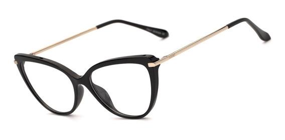 Armação Oculos Grau Feminino Avano Av 525-c Blogueira Retro