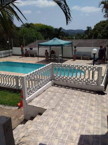 Imagem 1 de 11 de Chácara Com 2 Dormitórios À Venda, 3790 M² Por R$ 750.000,00 - Recanto Vital Brasil - Mauá/sp - Ch0003