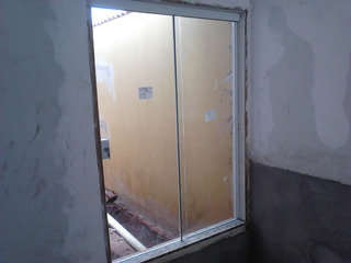 Porta De Blindex 2,10x1,50 De Correr Desmontada