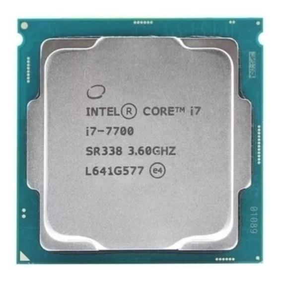 Processador Intel Core I7 7700 4.2ghz 8mb Lga 1151 7°geração