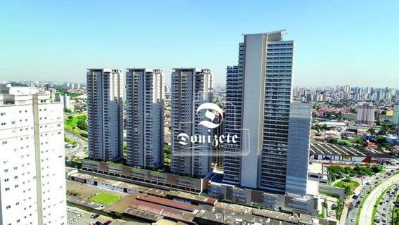 Sala À Venda, 38 M² Por R$ 323.000,00 - Paraíso - Santo André/sp - Sa0876