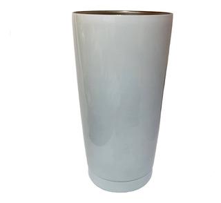 Vaso Conico Acero Sublimar Sublimacion Blanco Colormake 20oz
