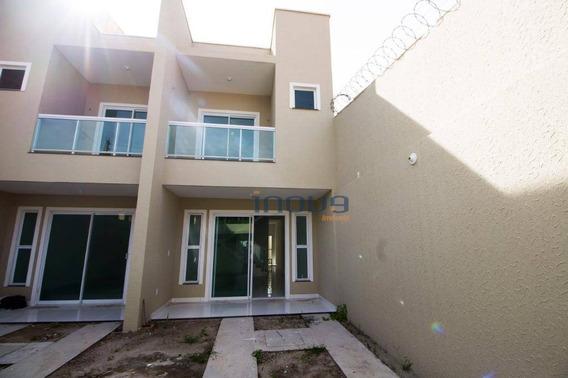 Casa Com 2 Dormitórios À Venda, 90 M² Por R$ 260.000,00 - Parque Dois Imãos - Fortaleza/ce - Ca0507