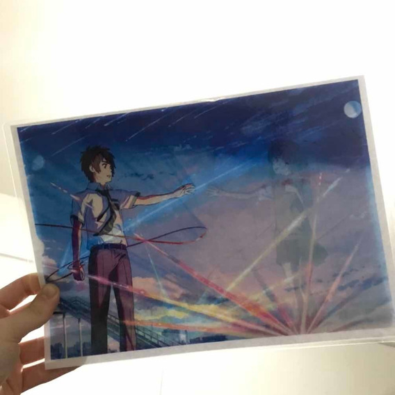 Poster Magico Taki Y Mitsuha Your Name - Kimi No Na Wa Anime