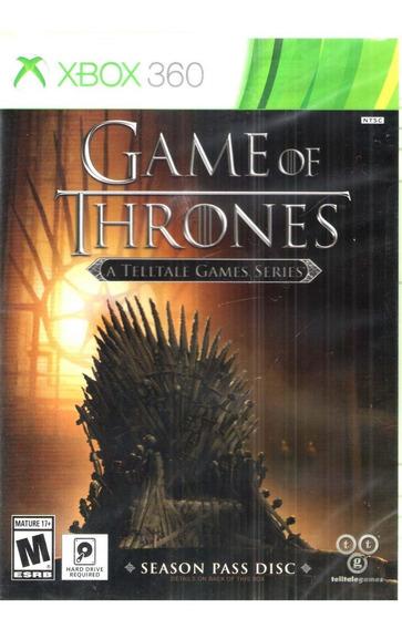 Game Of Thrones A Telltale Games Series Xbox360-orig/lacrado