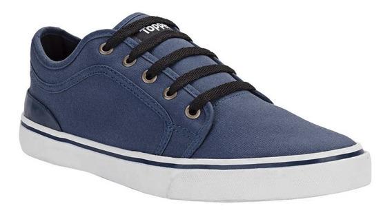 Zapatillas Topper Urbanas Jiro Original Azul
