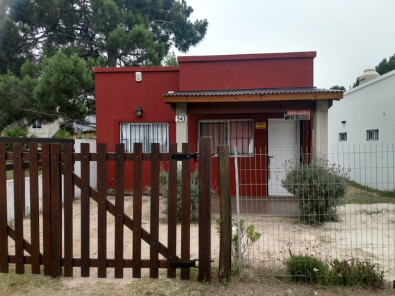 Casa En Alquiler Temporario En Aguas Verdes